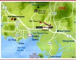Sand Sea Resort Map